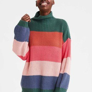AMERICAN EAGLE OUTFITTERS Oversized Rainbow Stripe